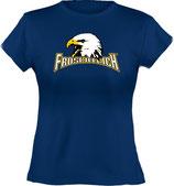 Ladies´ Classic T-Shirt, Froschteich® Adler, Aufdruck vorne, Gr. XS - XXL, 100% Bio-Baumwolle