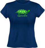 Ladies´ Classic T-Shirt, Froschteich® Turtle, Aufdruck vorne, Gr. XS - XXL, 100% Bio-Baumwolle