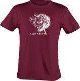 T-Shirt heavy, unisex, Froschteich® Pusteblume, Aufdruck vorne, Gr. XS - 3XL, 100% Baumwolle