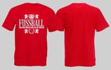 Fussball muss bezahlbar sein Shirt Rot