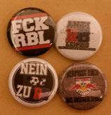 Anti RB 4er Buttonset Neu