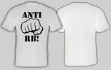 Anti RB Faust Shirt weiss