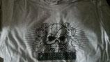 Pyro Totenkopf Shirt Grau