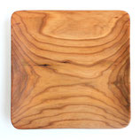 リトアニア製 木製プレート 角皿 《プレーン》 24cm角