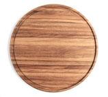 リトアニア製 木製カッティングボード《円形 大》直径39cm