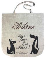 Poilane(ポワラーヌ) リネンバッグ《プリント入り》