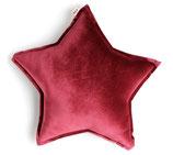 Numero 74 ベロアスタークッション《Red Macaron》