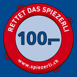 CHF 100.– SPENDE
