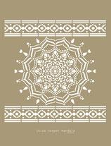 Ibiza carpet Mandala stencil