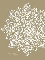 Holy Mandala stencil