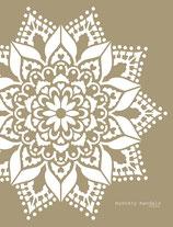 Mystery Mandala stencil