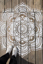 Mandala wandbord