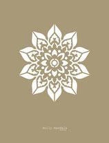 Doily Mandala stencil