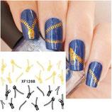 Nail Sticker Nagel Fingernägel Tattoo Aufkleber Fuß-Nägel
