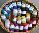 Edelweiss Sockenwolle mit Alpaka