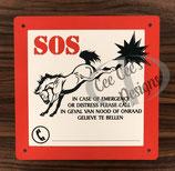 SOS bord voor auto / trailer / vrachtwagen
