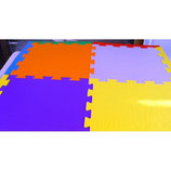 Pavimenti Antitrauma Bicolore a puzzle cm 100x100x1.5H