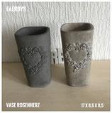 Vase Rosenherz