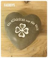 Herz Ein Glücksklee