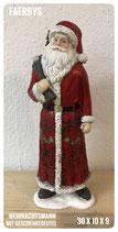 Weihnachtsmann gr. mit Geschenke Beutel