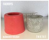 Teelicht Blümchen