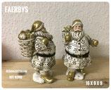 Weihnachtsmann mit Korb