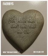 """Herz """"Ich halte Dich"""""""