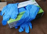 Gants de protection Nitrile (boîte de 100)
