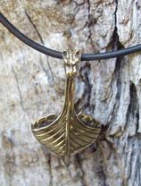 Pendentif en bronze - Drakkar