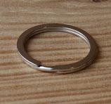 Anneau plat de porte-clés 25 mm