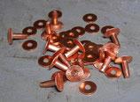 Rivets à mater en cuivre 13 mm / T40
