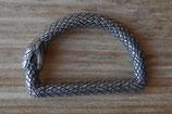 Dés de fixation serpent - anneau demi rond - 18 mm