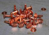 Rivets à mater en cuivre 14 mm / T35