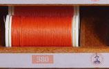 fil polyester cordonnet orange 380