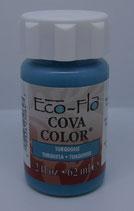Peinture opaque à base d'eau - TURQUOISE - Cova Color