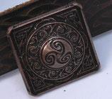 Carré celtique vieux cuivre