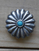 Concho turquoise 25 mm