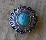 Concho turquoise plume