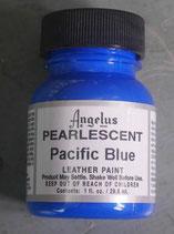 Pearlescent Pacific Blue peinture Angelus