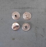 Pressions 12 mm nickel