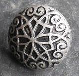 Nœud gothique vieil argent