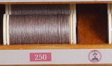 fil de lin glacé beige 250