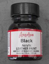 Black peinture Angelus
