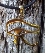 Pendentif en bronze - Udyat l'œil d'Horus