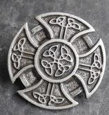 Croix des celtes vieil argent 35 mm