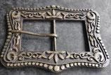 Boucle Sargon vieux laiton