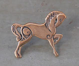 Concho cheval celtique en bronze