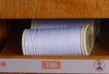 fil polyester cordonnet blanc 100
