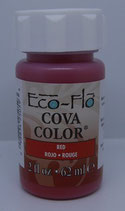 Peinture opaque à base d'eau - ROUGE - Cova Color