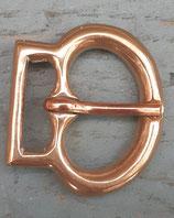 Boucle médiévale bronze XIV/XV